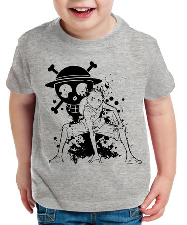 Ruffy Angry Zorro One Manga Kinder T-Shirt Anime Piece – Bild 4
