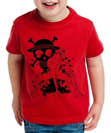 Ruffy Angry Zorro One Manga Kinder T-Shirt Anime Piece – Bild 5