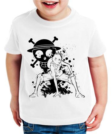 Ruffy Angry Zorro One Manga Kinder T-Shirt Anime Piece – Bild 2