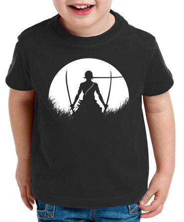 Sun Rise Zorro One Manga Kinder Ruffy T-Shirt Anime Piece – Bild 2
