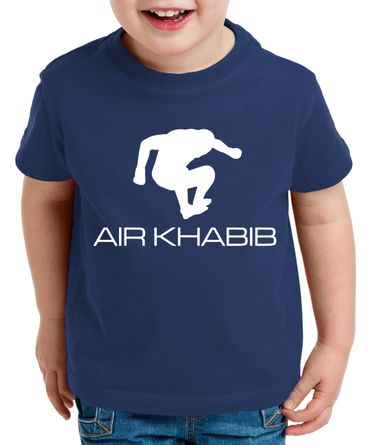 Air Khabib Kinder T-Shirt Cooles MMA Fun Shirt – Bild 1