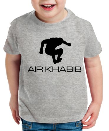 Air Khabib Kinder T-Shirt Cooles MMA Fun Shirt – Bild 2