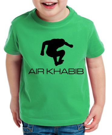 Air Khabib Kinder T-Shirt Cooles MMA Fun Shirt – Bild 3