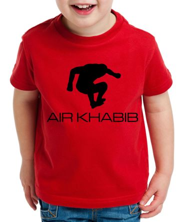 Air Khabib Kinder T-Shirt Cooles MMA Fun Shirt – Bild 4