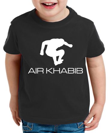 Air Khabib Kinder T-Shirt Cooles MMA Fun Shirt – Bild 6
