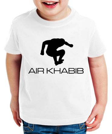 Air Khabib Kinder T-Shirt Cooles MMA Fun Shirt – Bild 7