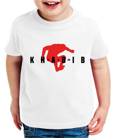 Air Khabib II Kinder T-Shirt Cooles MMA Fun Shirt – Bild 6