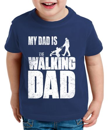 The Walking Dad Kinder T-Shirt Dead – Bild 2