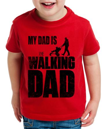 The Walking Dad Kinder T-Shirt Dead – Bild 4