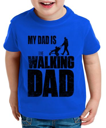 The Walking Dad Kinder T-Shirt Dead – Bild 5