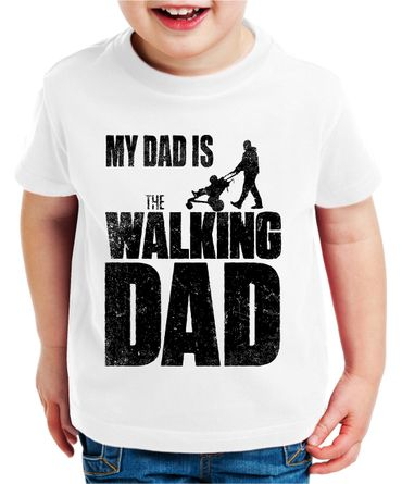 The Walking Dad Kinder T-Shirt Dead – Bild 7