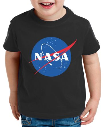 NASA Logo Kinder T-Shirt Astronaut Space Rocket Moon – Bild 3