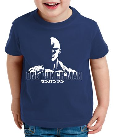 OPM Saitama Kinder T-Shirt Punch one anime manga – Bild 2