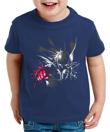 Sait Fly Saitama Kinder T-Shirt Punch one anime manga – Bild 2