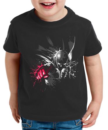 Sait Fly Saitama Kinder T-Shirt Punch one anime manga – Bild 1