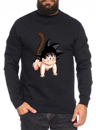 Son Baby Herren Sweatshirt Son Dragon Master Ball Vegeta Turtle Roshi Db – Bild 4
