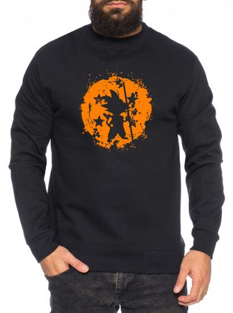 Son Bruch Herren Sweatshirt Son Dragon Master Ball Vegeta Turtle Roshi Db – Bild 2