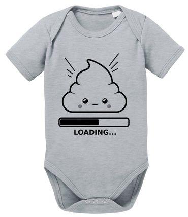 Loading - Geschenk für Neugeborene Jungen Baby Kurzarm Body Strampler Bio Baumwolle 0-12 Monate – Bild 1