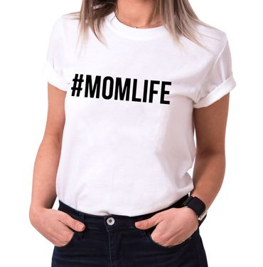 #Mom Life - Statement Shirts - Women's T-Shirt Crewneck – Bild 2