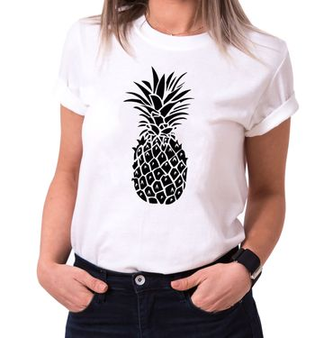 Ananas - Statement Shirts - Women's T-Shirt Crewneck – Bild 2