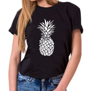 Ananas - Statement Shirts - Women's T-Shirt Crewneck – Bild 1