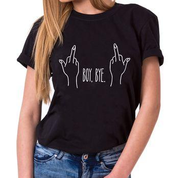 Boy Bye - Statement Shirts - Women's T-Shirt Crewneck – Bild 1