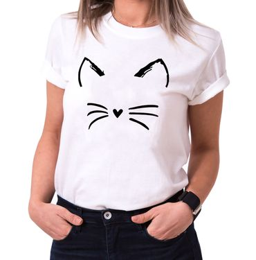 Cat - Statement Shirts - Damen T-Shirt Rundhals - Sprüche Shirts – Bild 2