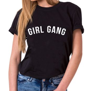 Girl Gang - Statement Shirts - Women's T-Shirt Crewneck – Bild 1