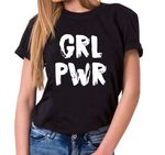 GRL PWR - Statement Shirts - Women's T-Shirt Crewneck 001