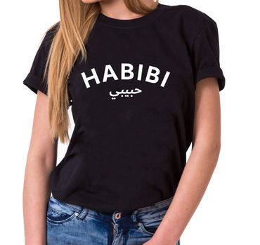 Habibi - Statement Shirts - Women's T-Shirt Crewneck – Bild 1