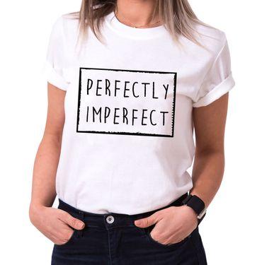 Perfectly Imperfect - Statement Shirts - Women's T-Shirt Crewneck – Bild 2