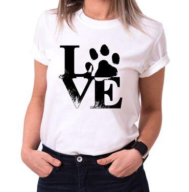 Love Dog - Statement Shirts - Women's T-Shirt Crewneck – Bild 2