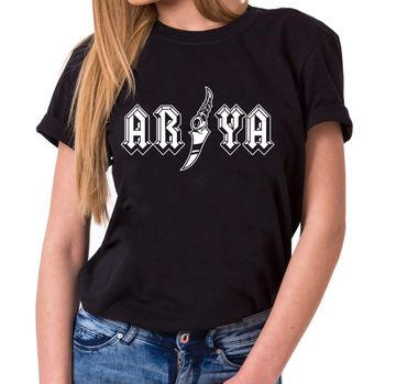 Arya - T-Shirt Damen Targaryen  thrones game of stark lannister baratheon Daenerys khaleesi tv blu-ray dvd  – Bild 1