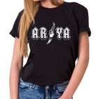 Arya - T-Shirt Damen Targaryen  thrones game of stark lannister baratheon Daenerys khaleesi tv blu-ray dvd  001