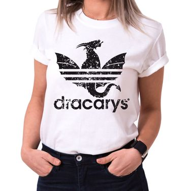 Dracarys Dragon - T-Shirt Damen Targaryen  thrones game of stark lannister baratheon Daenerys khaleesi tv blu-ray dvd  – Bild 2