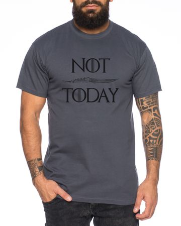 Not Today - Men's T-Shirt Targaryen  thrones game of stark lannister baratheon Daenerys khaleesi tv blu-ray dvd – Bild 2