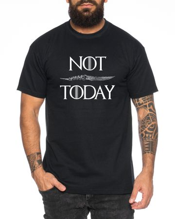 Not Today - Men's T-Shirt Targaryen  thrones game of stark lannister baratheon Daenerys khaleesi tv blu-ray dvd – Bild 4