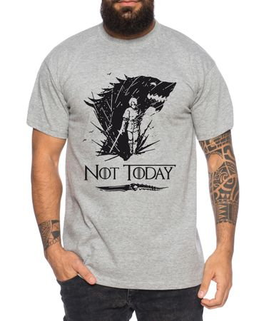 Not Today II - Men's T-Shirt Targaryen  thrones game of stark lannister baratheon Daenerys khaleesi tv blu-ray dvd – Bild 6