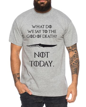 Not Today III - Men's T-Shirt Targaryen  thrones game of stark lannister baratheon Daenerys khaleesi tv blu-ray dvd – Bild 6