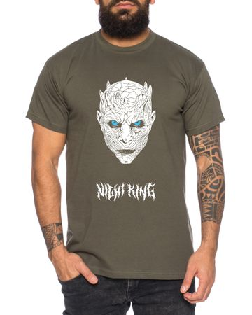 Night King - Herren T-Shirt Targaryen  thrones game of stark lannister baratheon Daenerys khaleesi tv blu-ray dvd – Bild 1