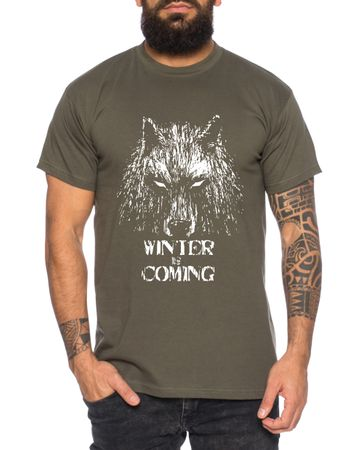 Winter Wolf - Herren T-Shirt Targaryen  thrones game of stark lannister baratheon Daenerys khaleesi tv blu-ray dvd – Bild 4
