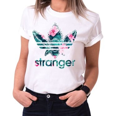 Stranger Aurora - T-Shirt Damen Things Demogorgon Elfie Dustin Jane Hopper Upside Down tv blu-ray dvd