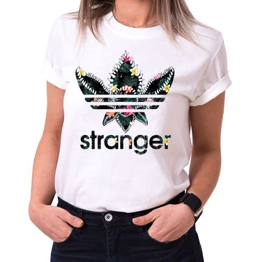 Stranger Lola - T-Shirt Damen Things Demogorgon Elfie Dustin Jane Hopper Upside Down tv blu-ray dvd