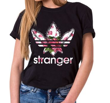 Stranger Nahia - T-Shirt Damen Things Demogorgon Elfie Dustin Jane Hopper Upside Down tv blu-ray dvd