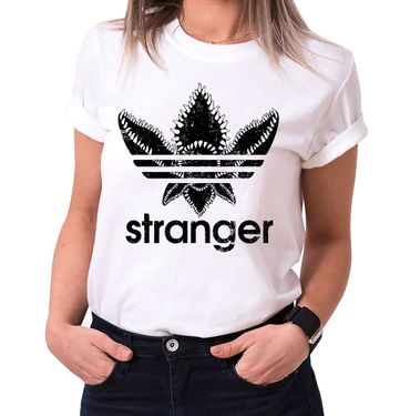 Stranger - T-Shirt Damen Things Demogorgon Elfie Dustin Jane Hopper Upside Down tv blu-ray dvd  – Bild 2