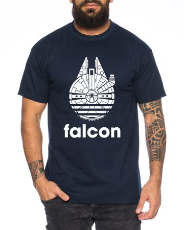 Adi Falcon - Men's T-Shirt Fast Falcon Wars T-Shirt Star Imperium Boba Fiction Darth – Bild 3