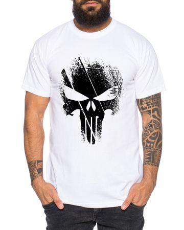 Punish -Men's T-Shirt Jon Bernthal Skull Logo Comics – Bild 4