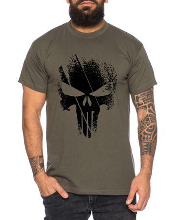 Punish -Men's T-Shirt Jon Bernthal Skull Logo Comics – Bild 6