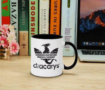 Dracarys - Cup coffee pot Gift Targaryen  thrones game of stark lannister baratheon Daenerys khaleesi tv blu-ray dvd  – Bild 2