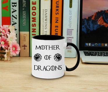 Mother of Dragons - Cup coffee pot Gift Targaryen  thrones game of stark lannister baratheon Daenerys khaleesi tv blu-ray dvd  – Bild 2